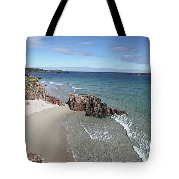 Tote Bag featuring the photograph Durness - Sutherland by Pat Speirs