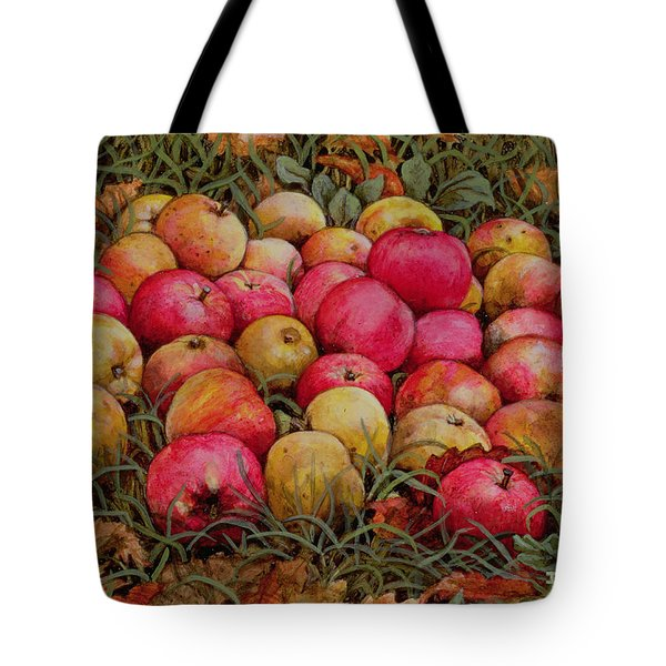 Durnitzhofer Apples Tote Bag by Ditz