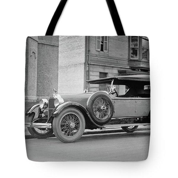 Dusenberg Car Circa 1923 Tote Bag