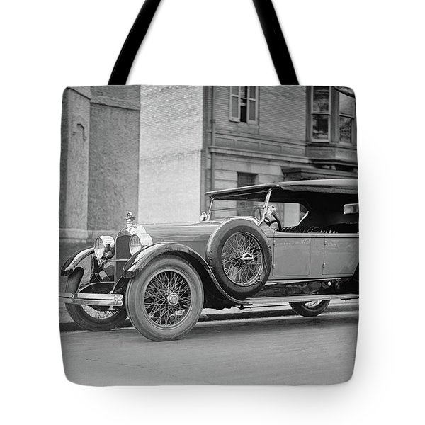 Dusenberg Car Circa 1923 Tote Bag