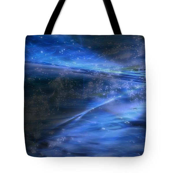 Dusk And Planets Tote Bag