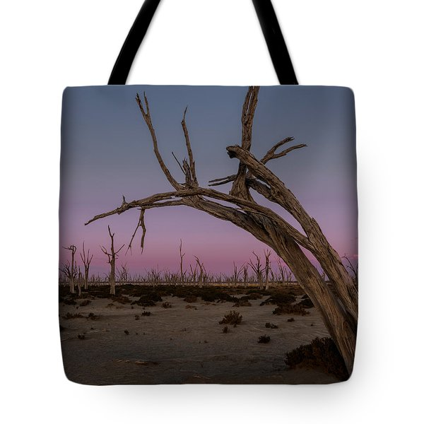 Dusk At Dumbleyung Lake Tote Bag