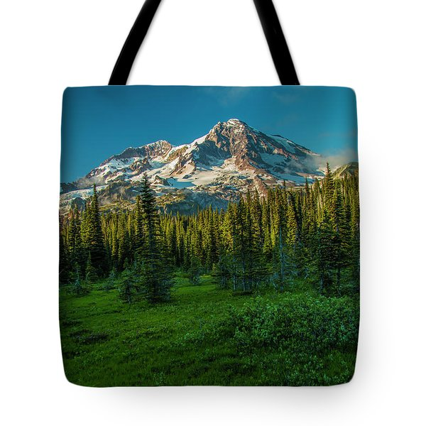 Dusk At Indian Henry Campground Tote Bag