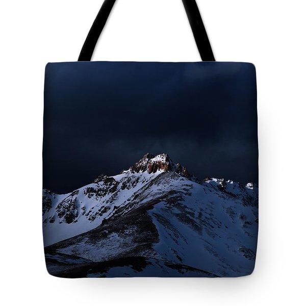 Dusk At Loveland Pass Tote Bag