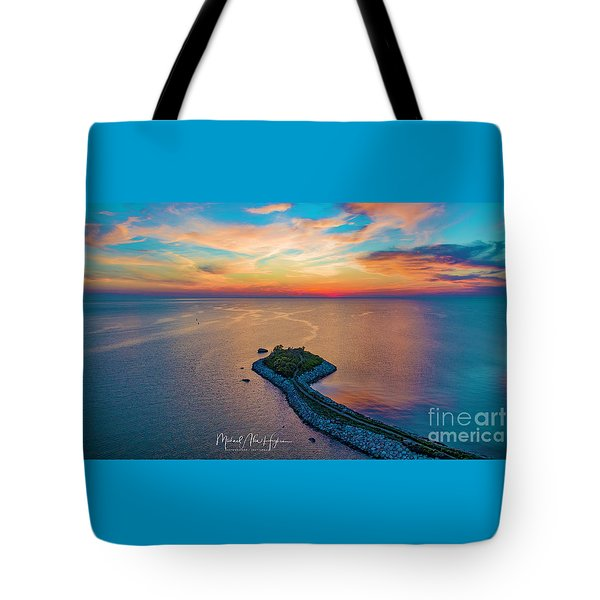 Dusk At The Knob Tote Bag