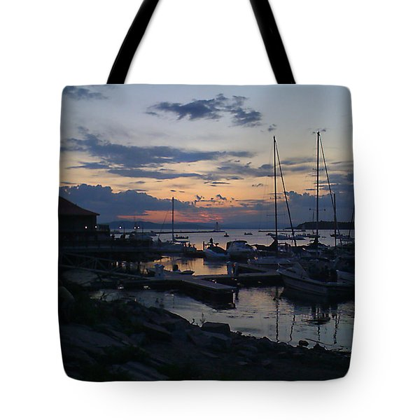 Tote Bag featuring the photograph Dusk Begins To Sleep by Felipe Adan Lerma