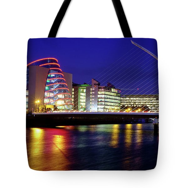 Dusk In Dublin Tote Bag