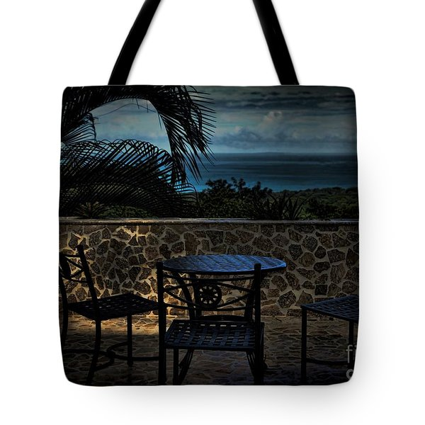 Dusk In The Jungle Tote Bag by Pamela Blizzard