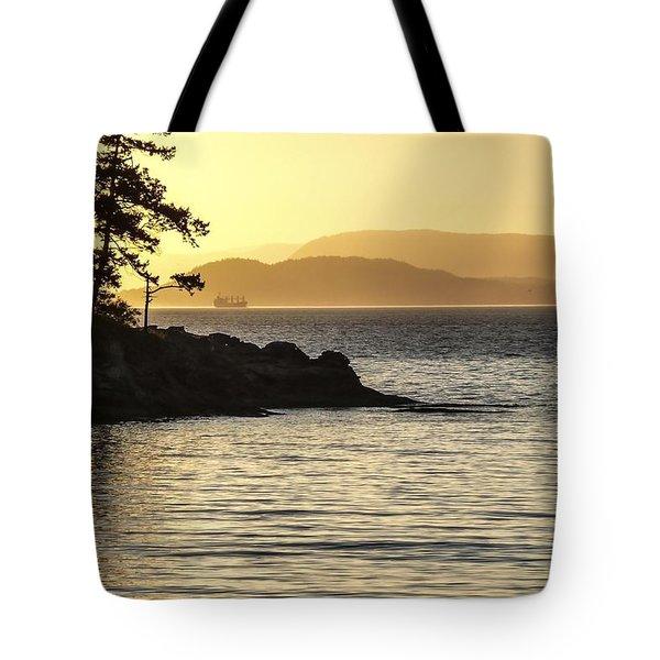 Dusk On Sucia Island Tote Bag