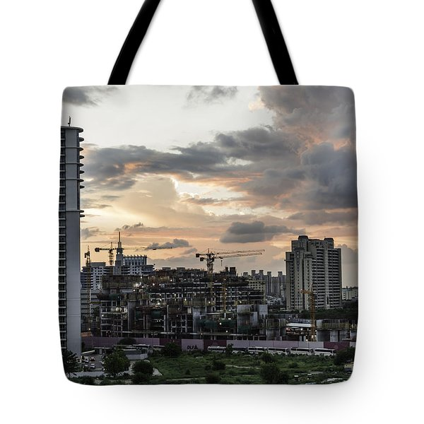 Dusk  Tote Bag by Rajiv Chopra