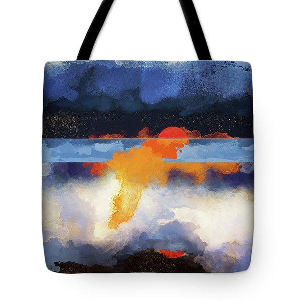 Dusk Reflection Tote Bag