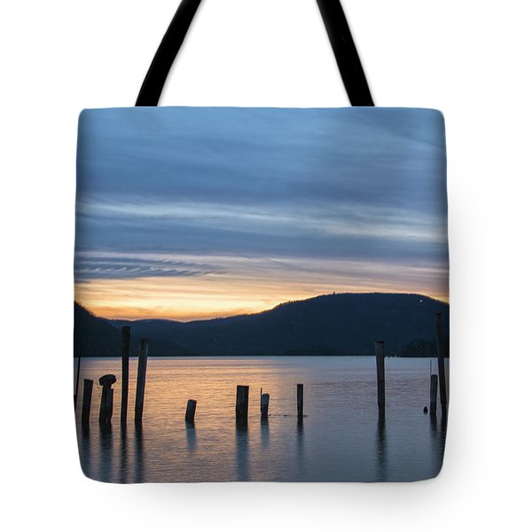 Dusk Sentinels Tote Bag by Angelo Marcialis