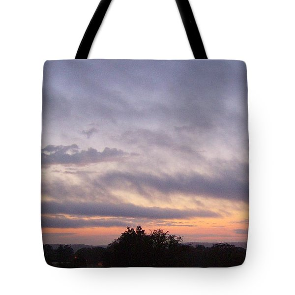 Tote Bag featuring the photograph Dusk by Skyler Tipton