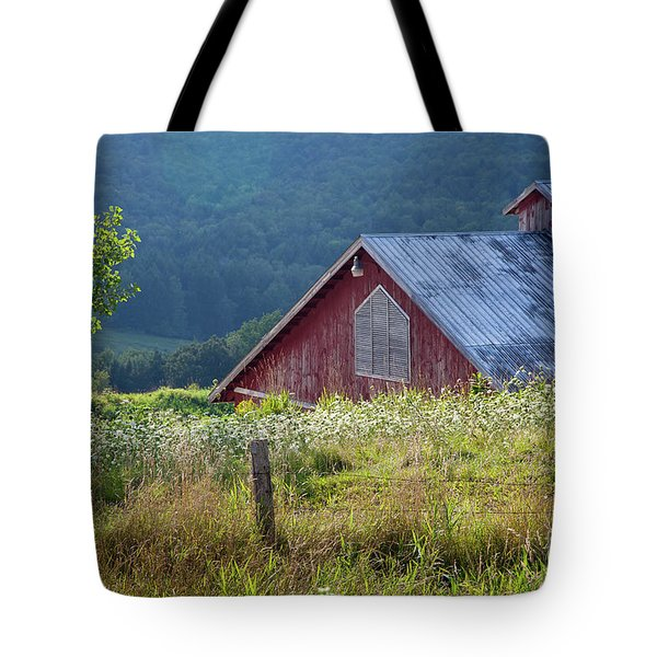 Tote Bag featuring the photograph Dusk View by Susan Cole Kelly