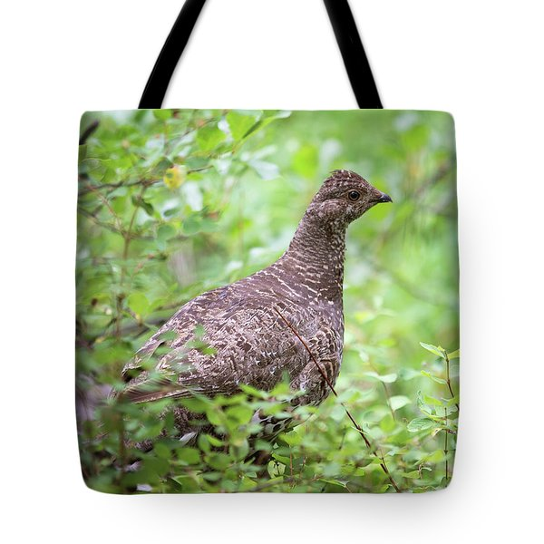 Dusky Grouse Tote Bag