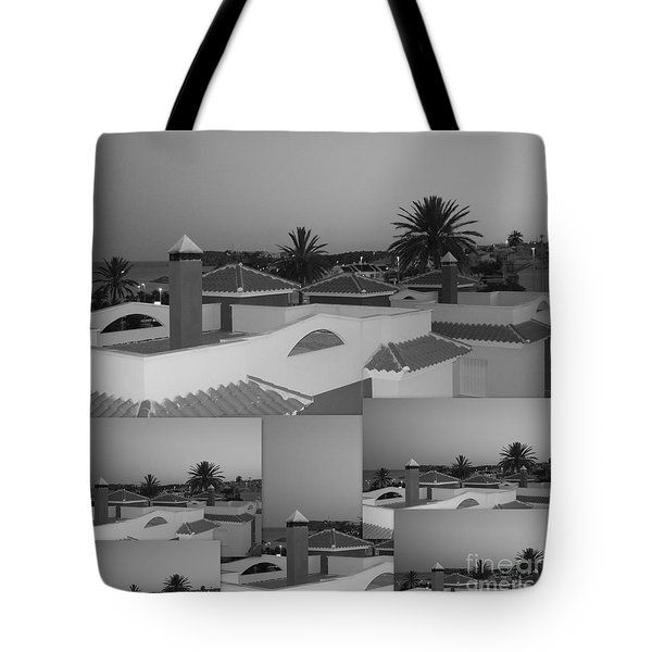 Dusky Rooftops Tote Bag by Linda Prewer