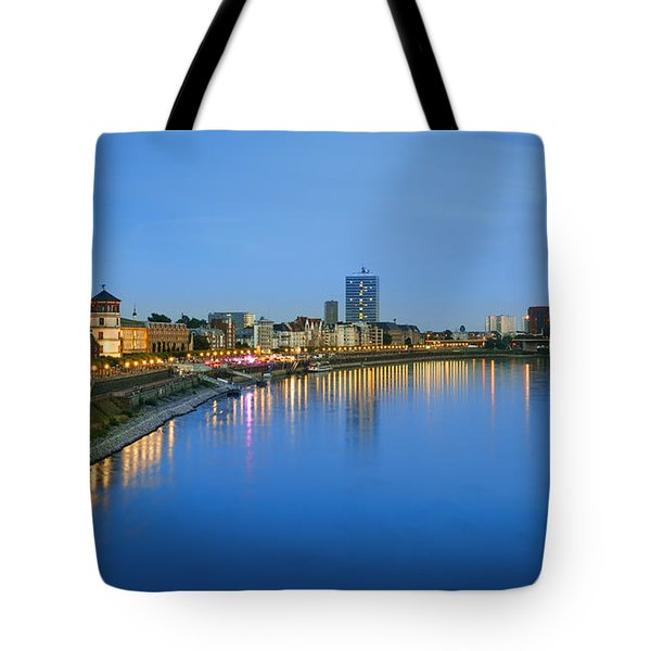 Dusseldorf Skyline  Tote Bag