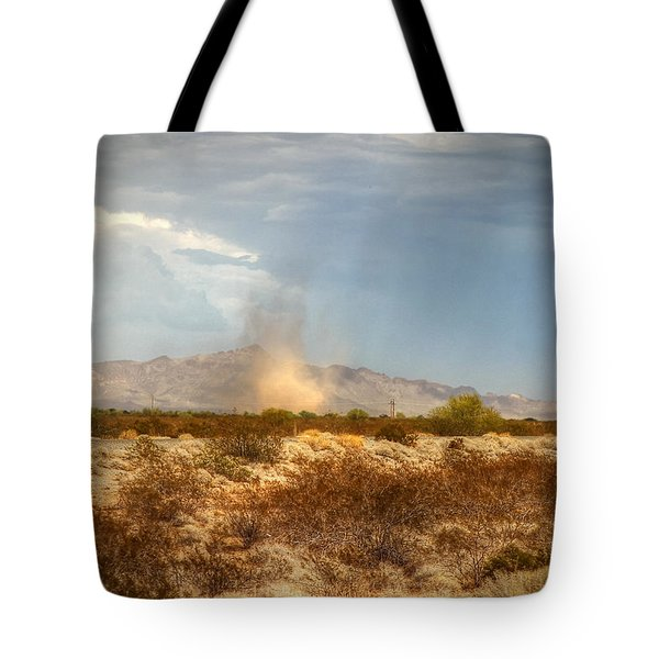Dust Devil Tote Bag