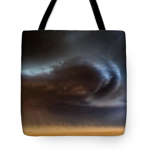 Dust Storm Tote Bag