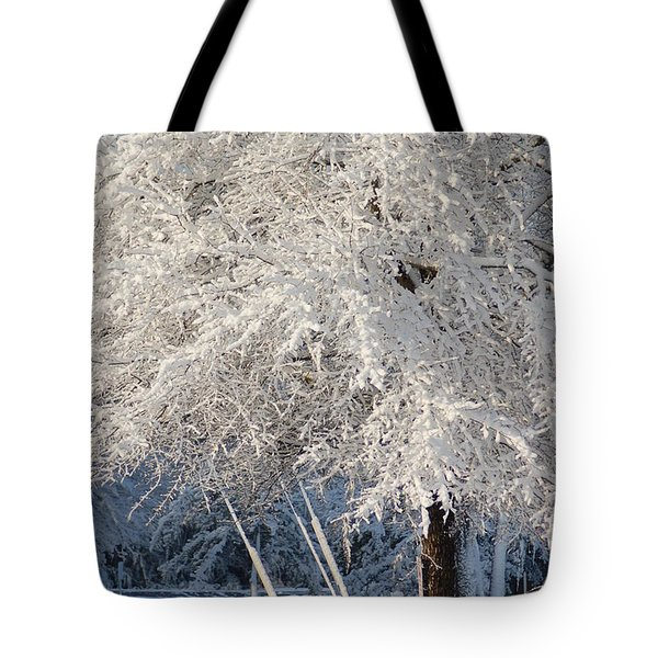 Dusted With Powdered Sugar Tote Bag