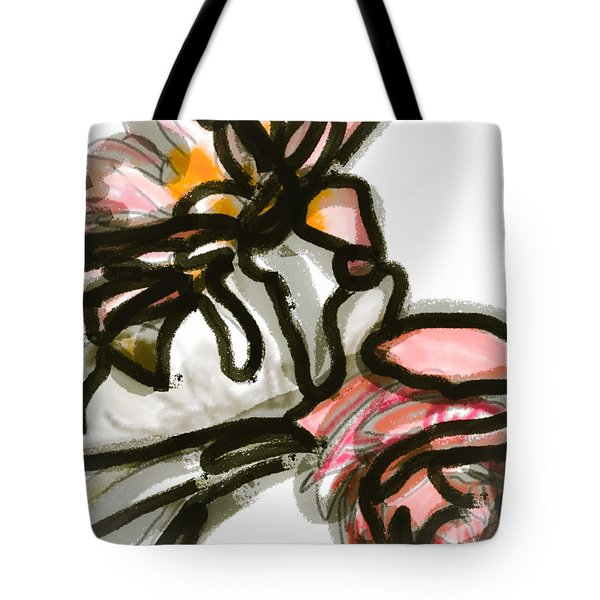 Dusty Miller Tote Bag
