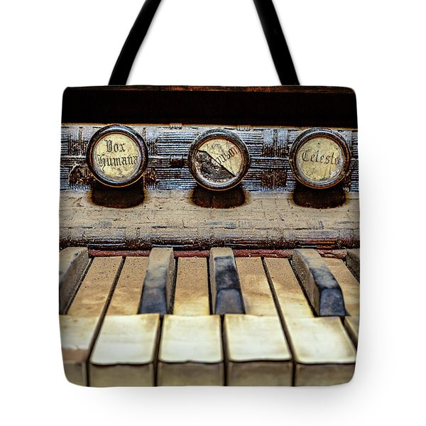 Dusty Old Keyboard Tote Bag