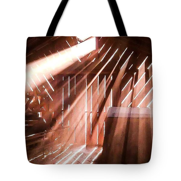 Dusty Rays Tote Bag