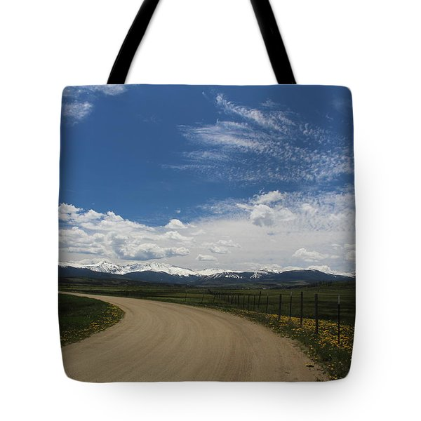 Dusty  Road Tote Bag
