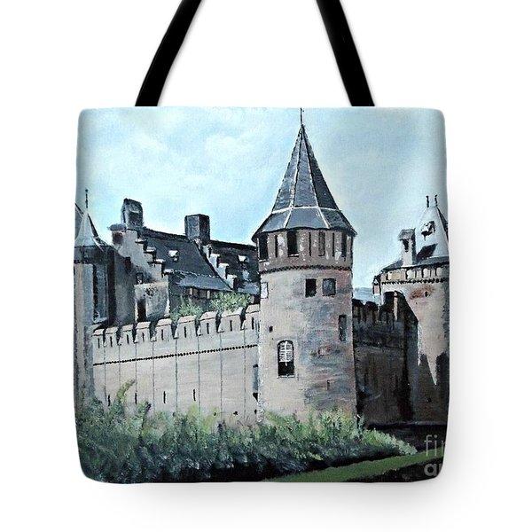 Dutch Castle In Muiden Tote Bag by Francine Heykoop