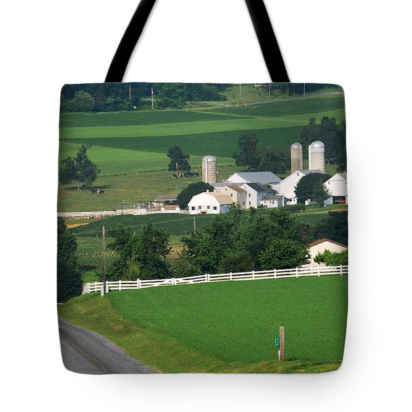Dutch Country Bike Ride Tote Bag