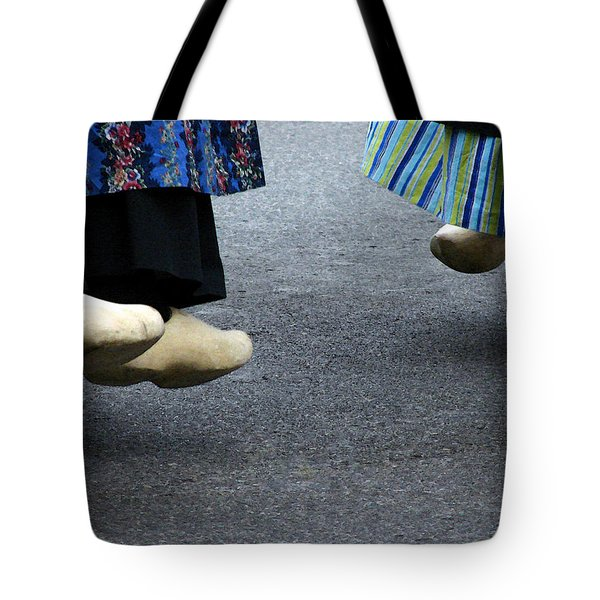 Dutch Dancers In Holland Tote Bag