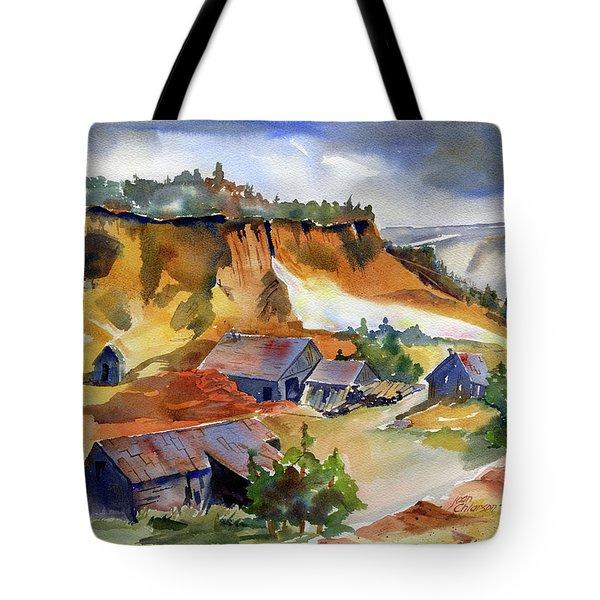 Dutch Flat Diggin's Gold Tote Bag