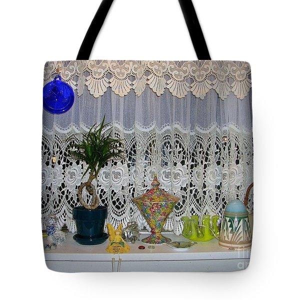 Dutch Lace Tote Bag