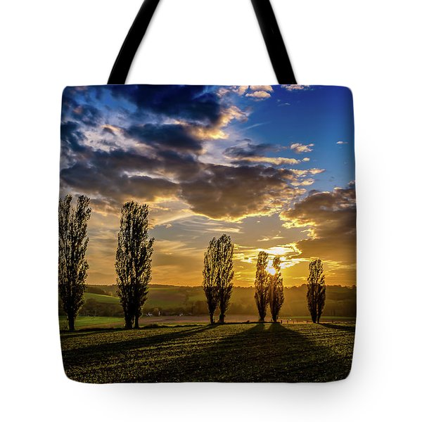 Dutch Moutains At Sunset Tote Bag