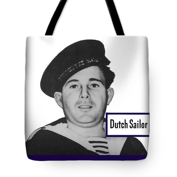 Dutch Sailor This Man Is Your Friend Tote Bag