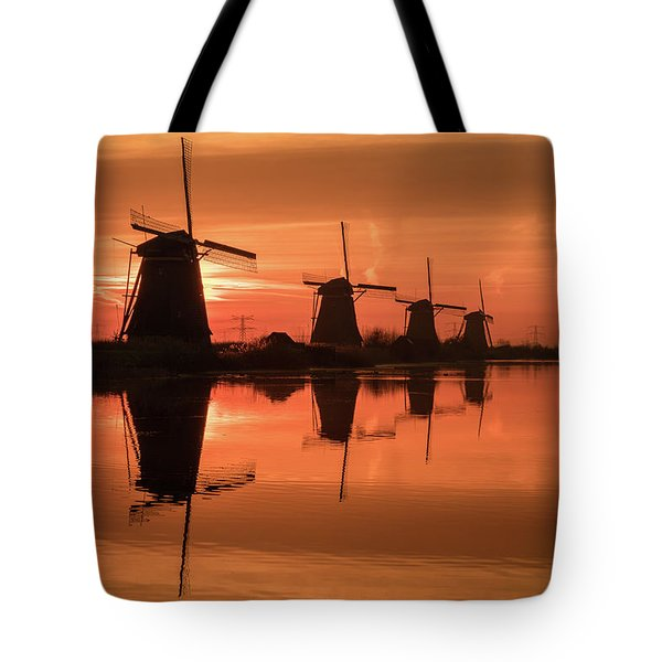 Dutch Sillhouette Tote Bag