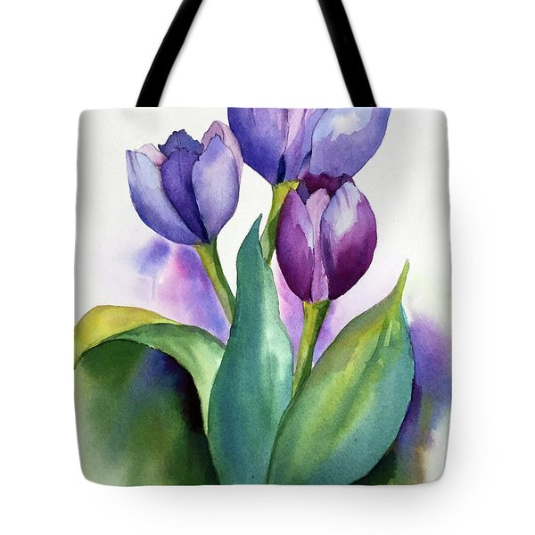 Dutch Tulips Tote Bag