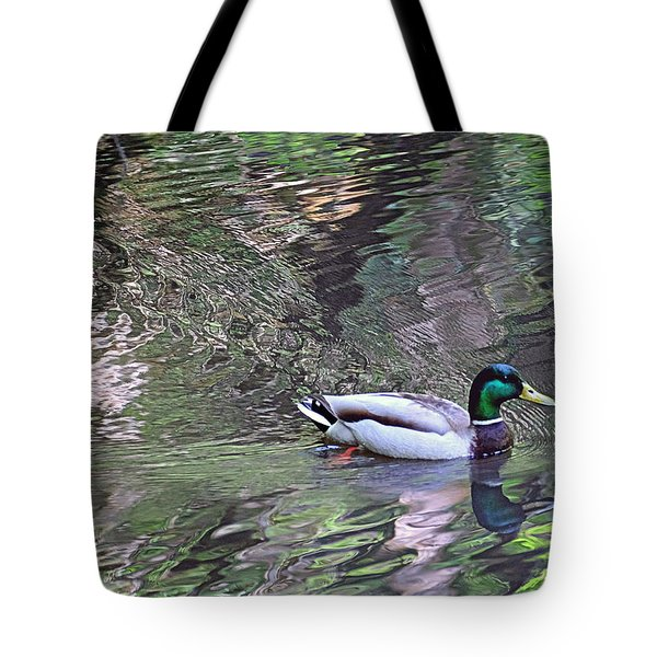 Duck Patterns Tote Bag
