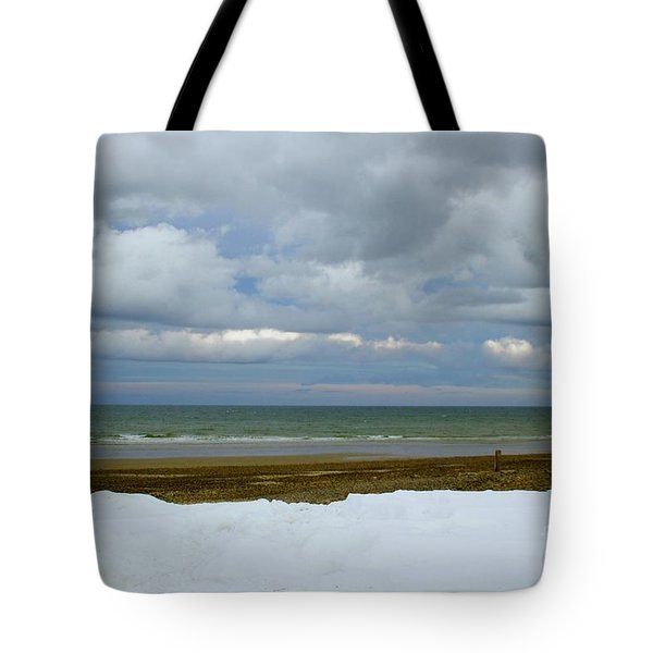 Duxbury Beach 3rd Crossover Tote Bag