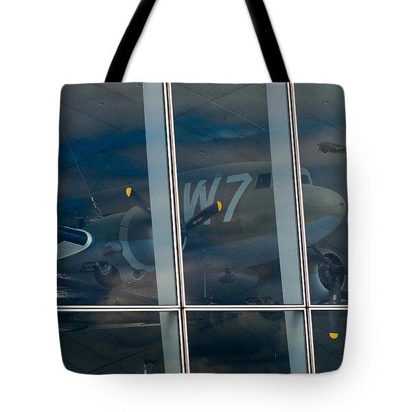 Tote Bag featuring the photograph Duxford Dakota Daydream by Gary Eason