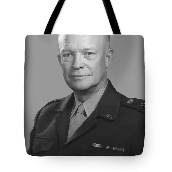 Dwight D. Eisenhower  Tote Bag by War Is Hell Store