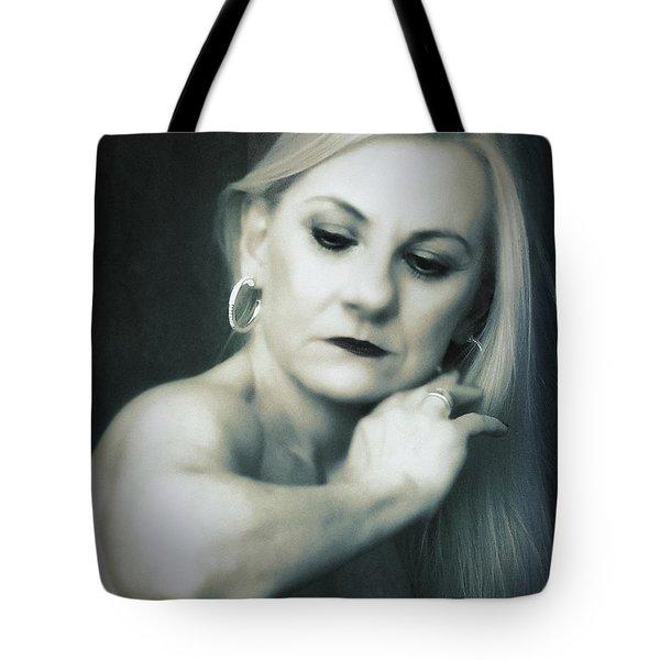 Dyan  ... Tote Bag by Chuck Caramella