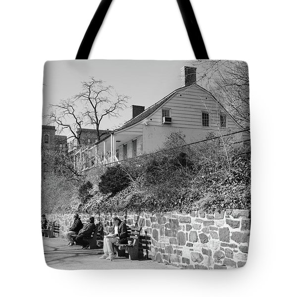 Dyckman Farmhouse  Tote Bag by Cole Thompson