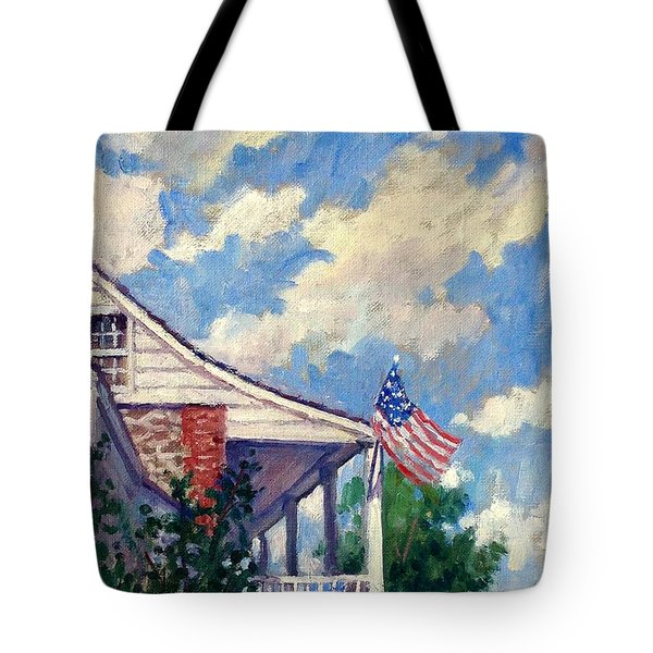 Dyckman House Nyc Tote Bag