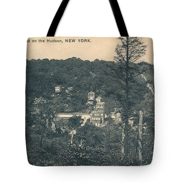 Dyckman Street At Turn Of The Century Tote Bag