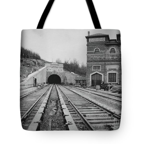 Tote Bag featuring the photograph Dyckman Street Station by Cole Thompson