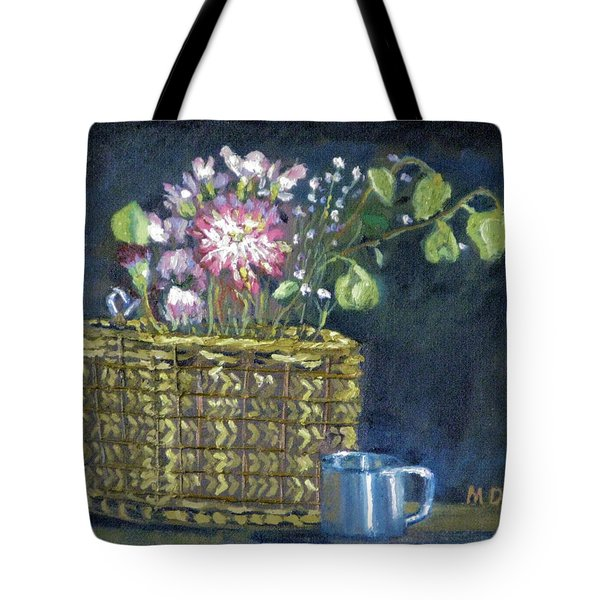 Dying Flowers Tote Bag