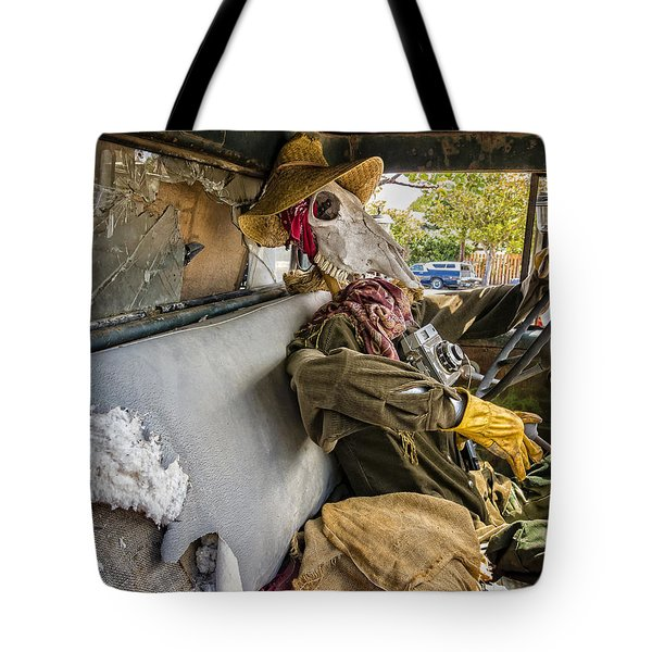Dying For The Shot Tote Bag by Caitlyn Grasso