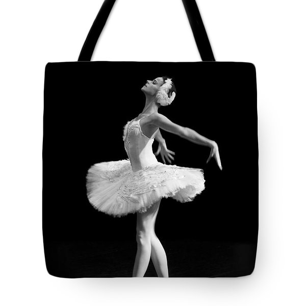 Dying Swan I Alternative Size Tote Bag