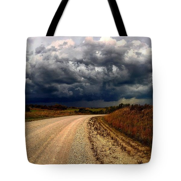 Dying Tornadic Supercell Tote Bag